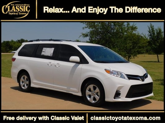 2020 toyota sienna le 8 passenger for sale in denison tx classic toyota of texoma 2020 toyota sienna le 8 passenger